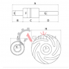 1094012R91 kit reparatie pompa apa